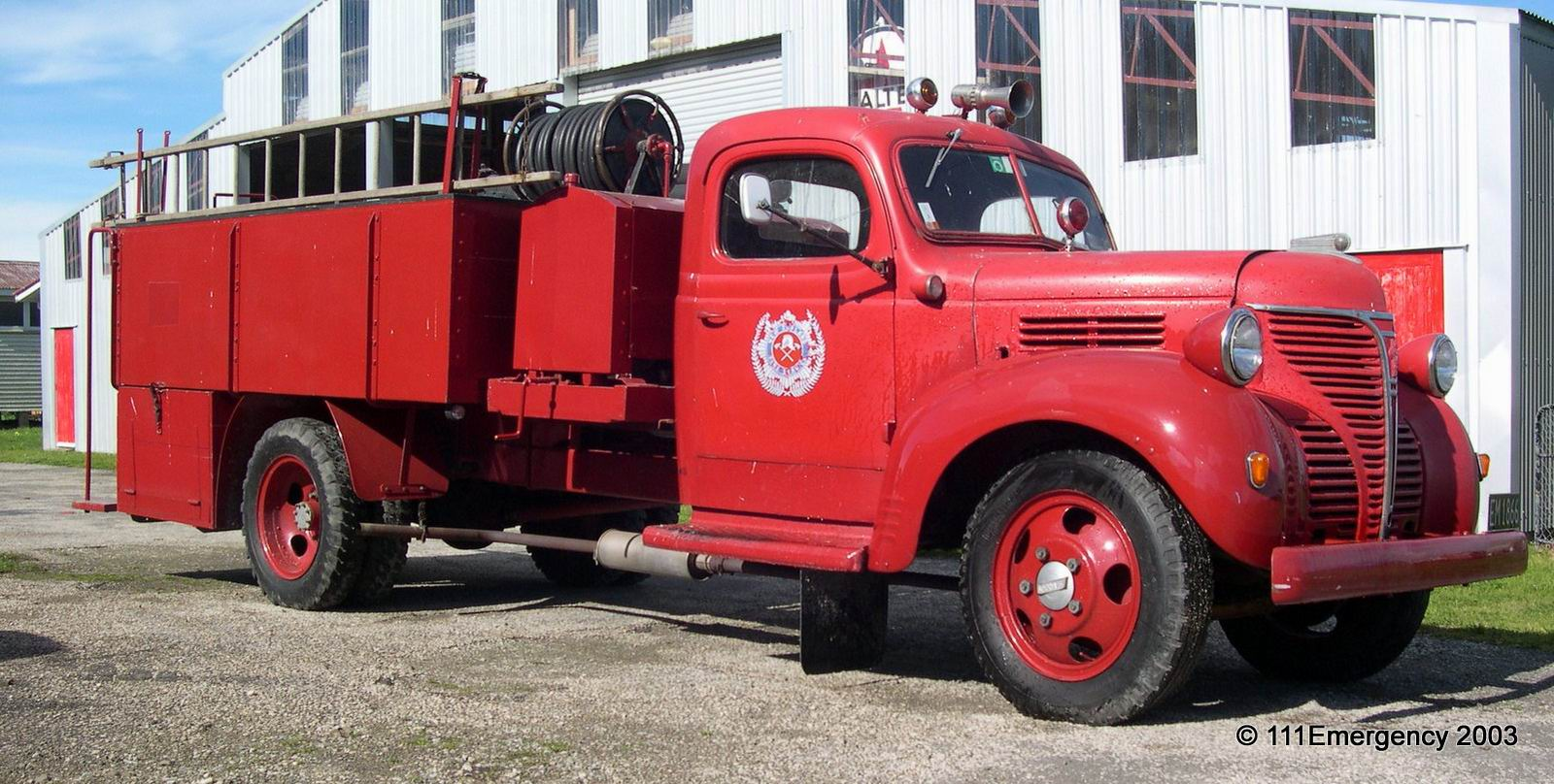 Appliances Fargo East Coast Transport Museum Fire Appliances