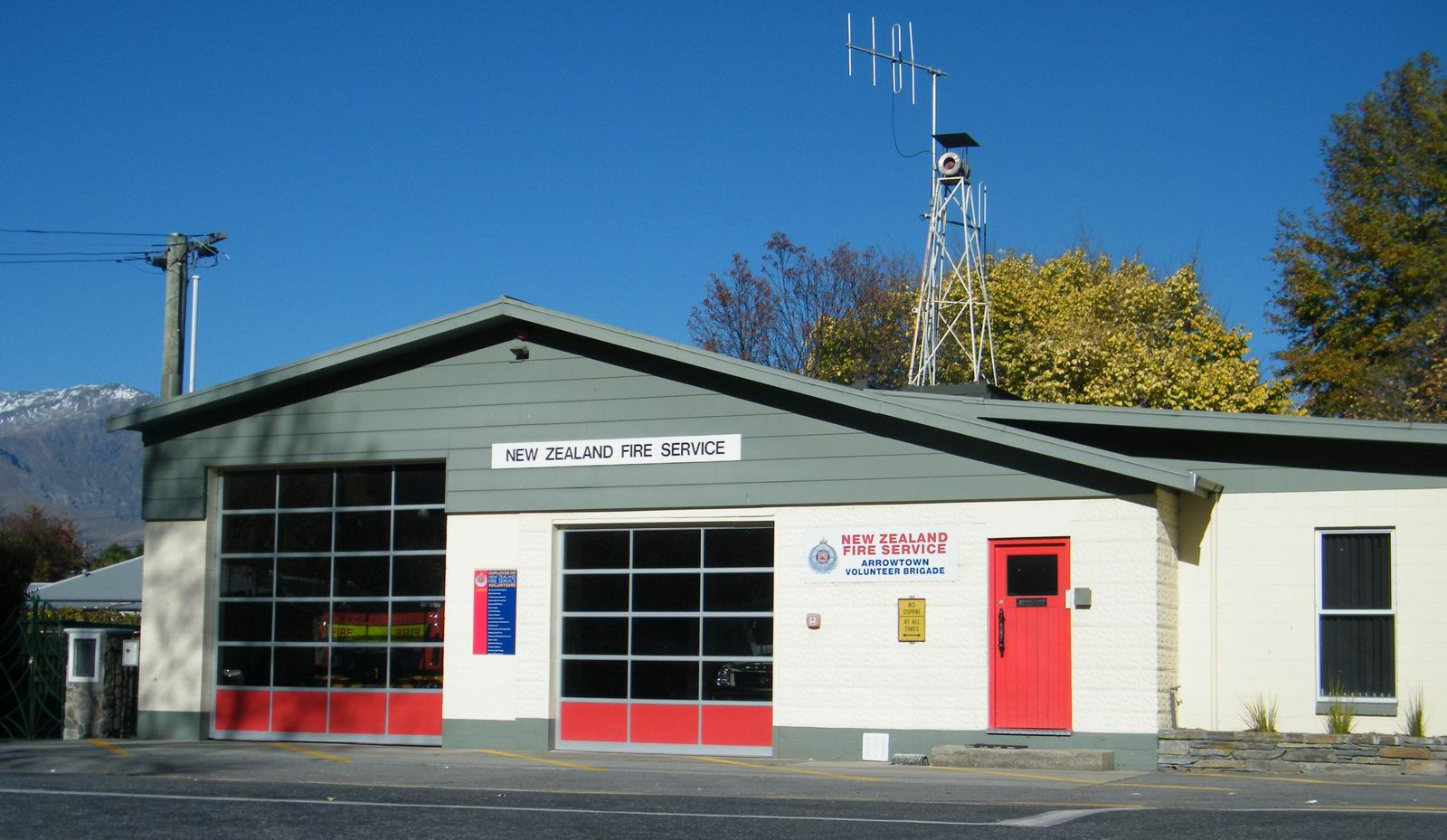 Arrowtown Volunteer Fire Brigade Station 78
