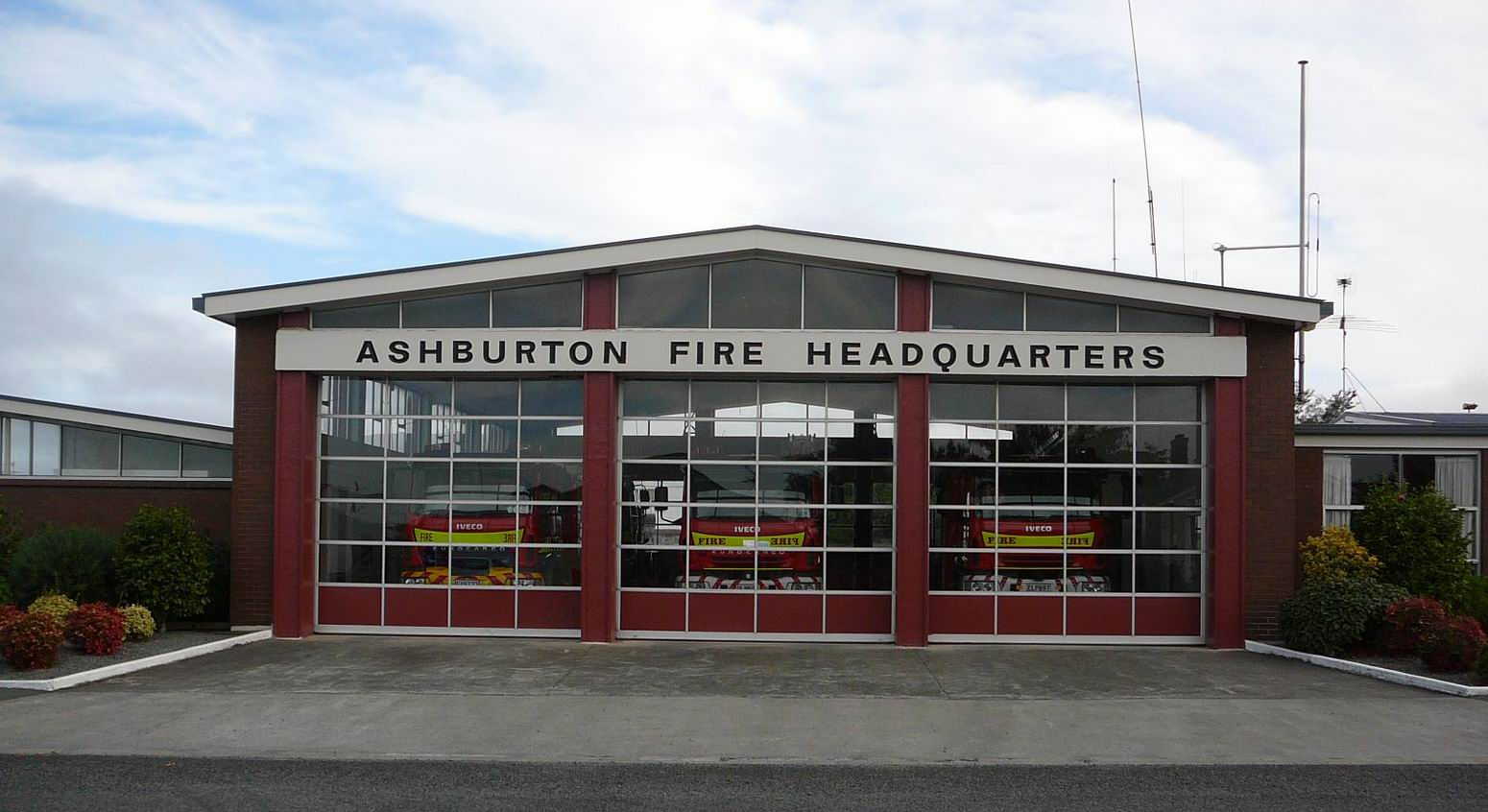 Ashburton Volunteer Fire Brigade Station 62