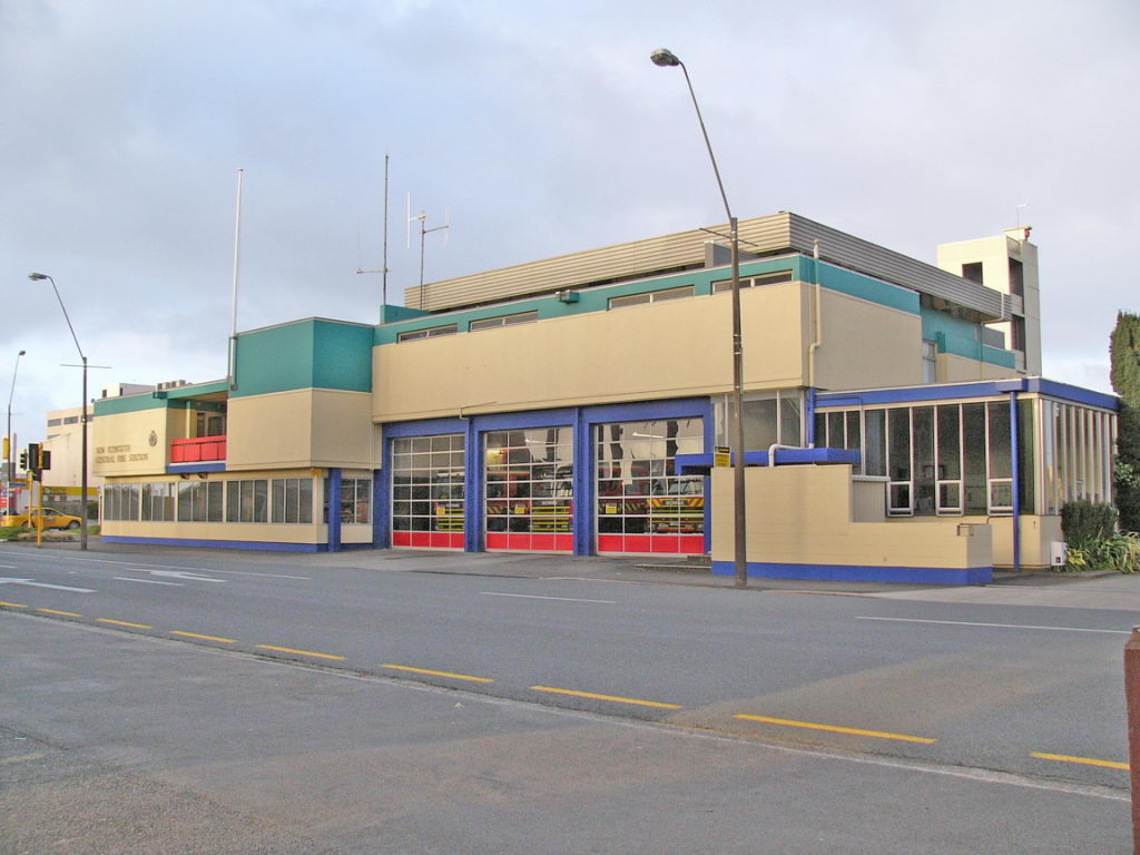 Station 61 New Plymouth Fire Station Permanent Brigade