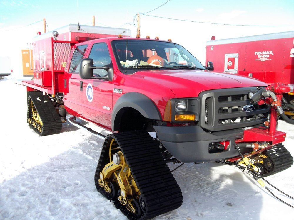 Fire Appliances From Around The World Antarctica