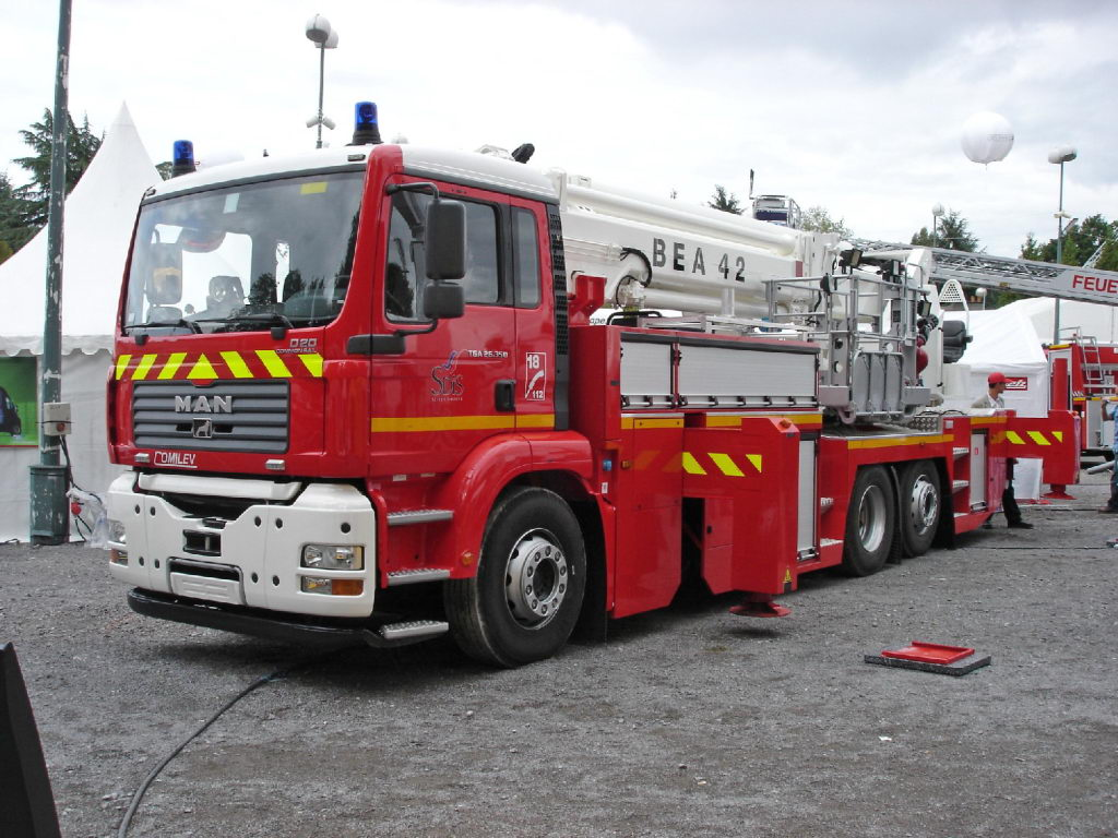 Fire Appliances From Around The World France
