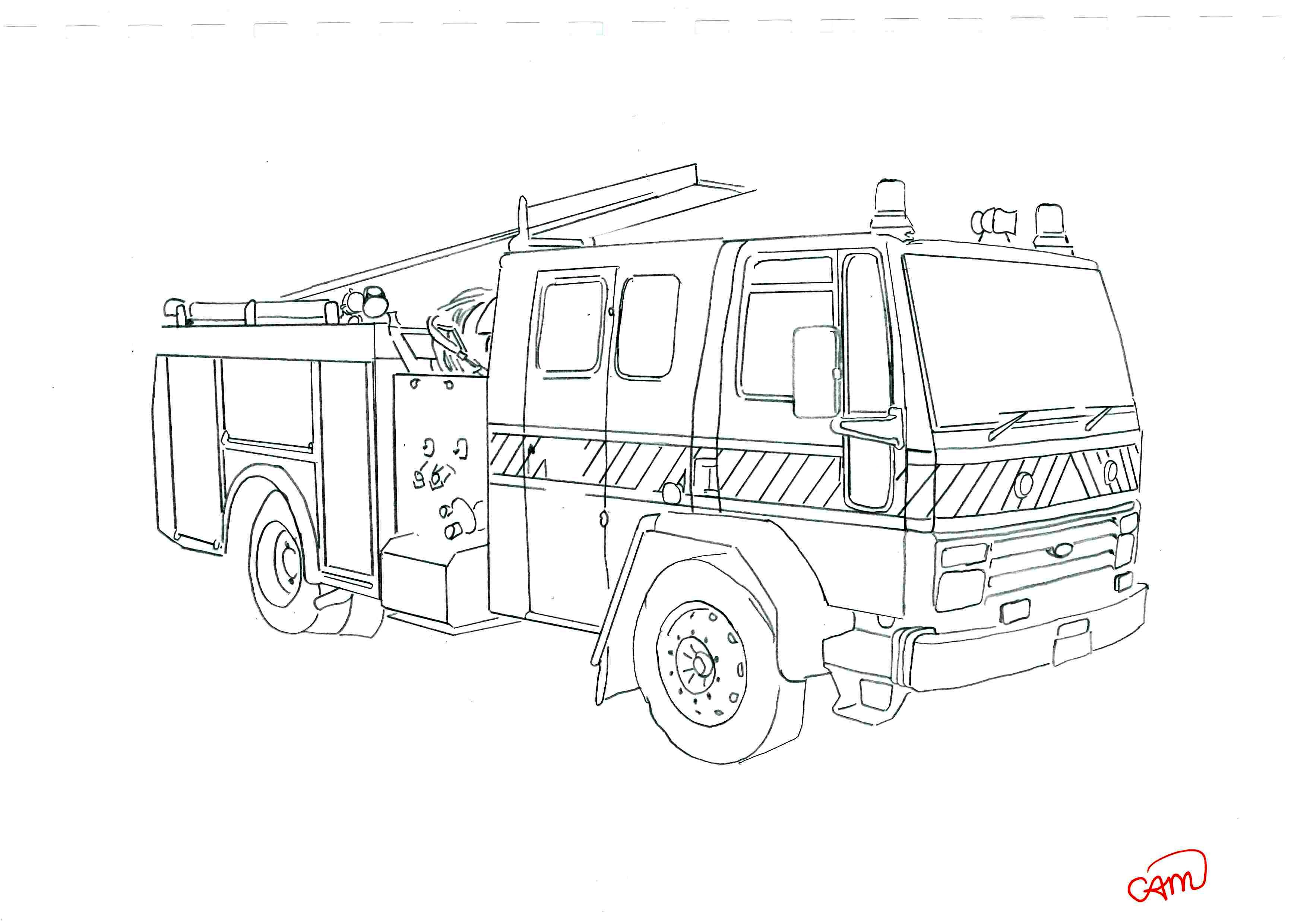 coloring pages of ambulance stations coloring pages
